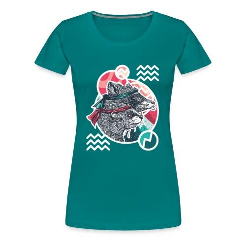 Wischwaschbär & AimbOTTER - Frauen Premium T-Shirt