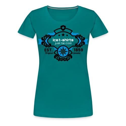 Ice T Shirt just be cool - Frauen Premium T-Shirt