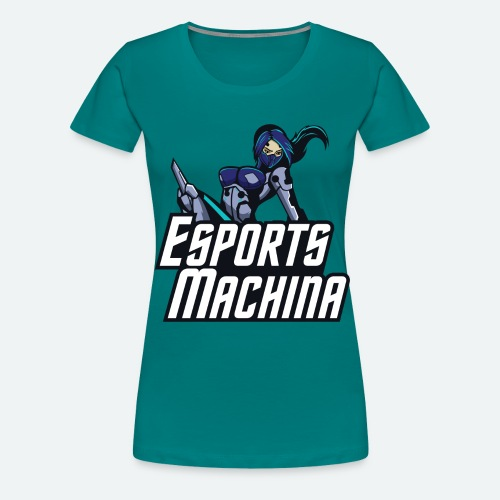 Esports Machina T-Shirt - Women's Premium T-Shirt