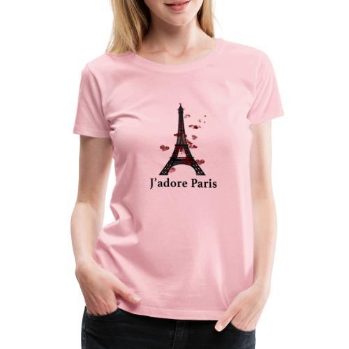 Design paris j'adore paris - T-shirt Premium Femme