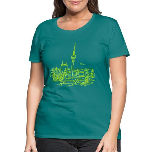 Berlin Panorama - Frauen Premium T-Shirt