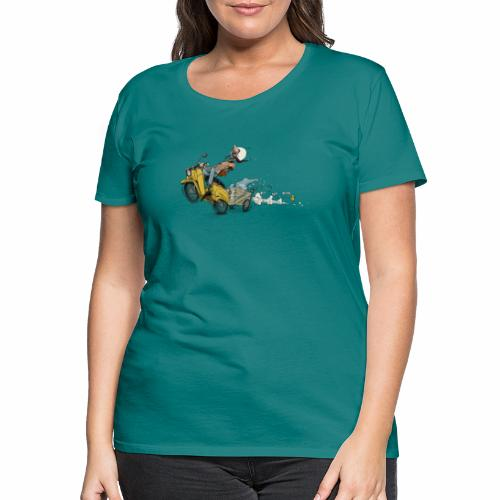 Simson Schwalbe DDR Ostalgie - Frauen Premium T-Shirt