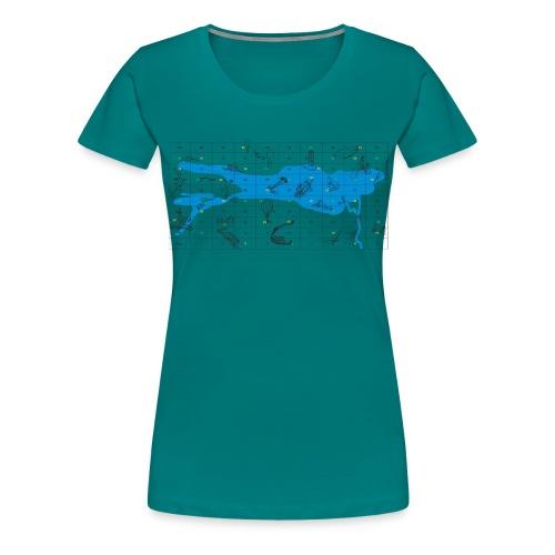 Bodensee Leiterlispiel - Frauen Premium T-Shirt