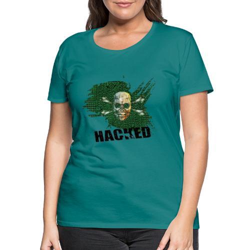 Hacking - Premium-T-shirt dam