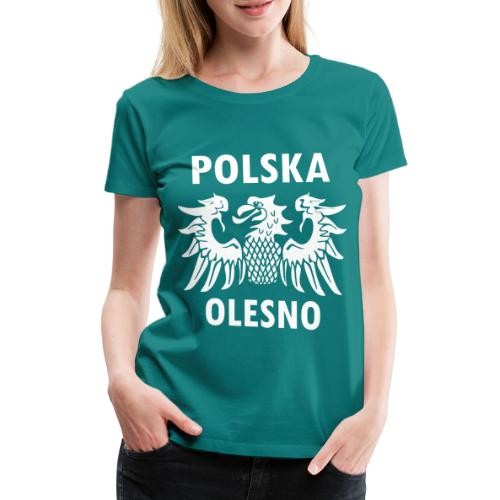 Polska Olesno - Frauen Premium T-Shirt