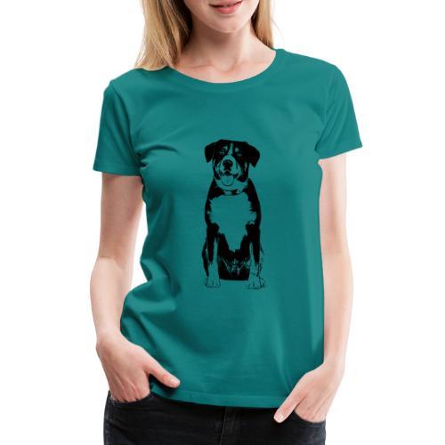 Entlebucher Sennenhund Hunde Design Geschenkidee - Frauen Premium T-Shirt