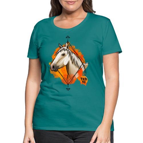 Apolline Orange - T-shirt Premium Femme