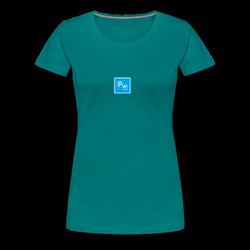 PW - Political Wear logo - Premium-T-shirt dam