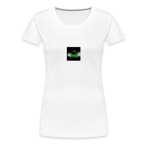 Green eye - Women's Premium T-Shirt