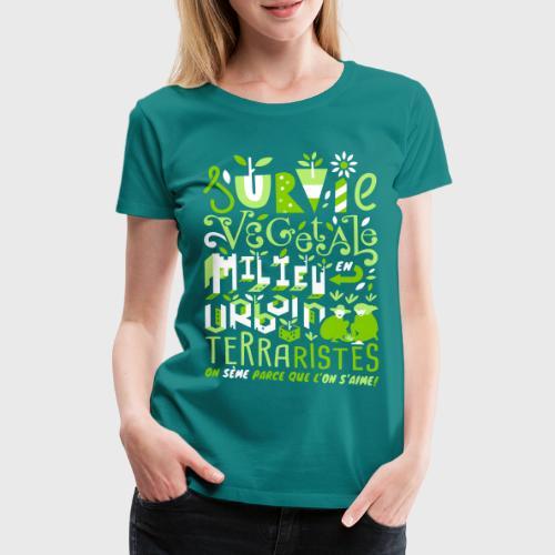 Green Guerilla - T-shirt Premium Femme
