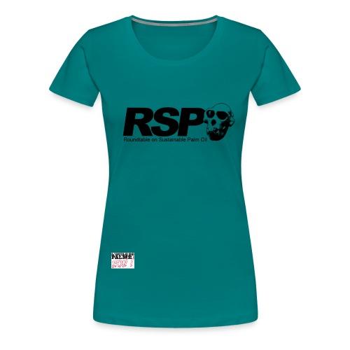 rspo skull - T-shirt Premium Femme