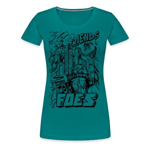 FRIENDS or FOES - Maglietta Premium da donna