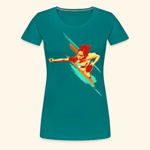Just believe that you can achieve it, keep playing - Frauen Premium T-Shirt