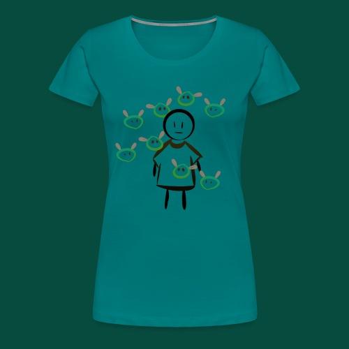 Dimelo - Camiseta premium mujer