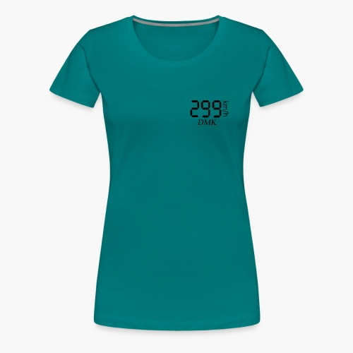 299KM/H DMK Black - T-shirt Premium Femme