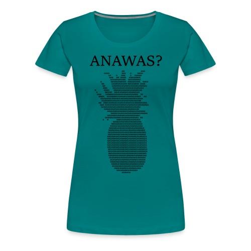 ANAWAS Ananas Fruits Buntmensch Geschenkidee - Frauen Premium T-Shirt