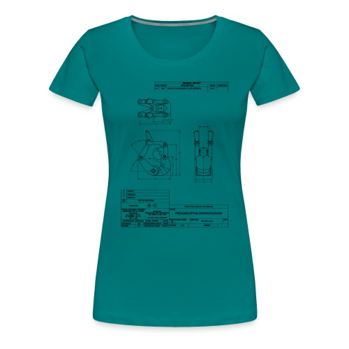 engdrawing - Women's Premium T-Shirt