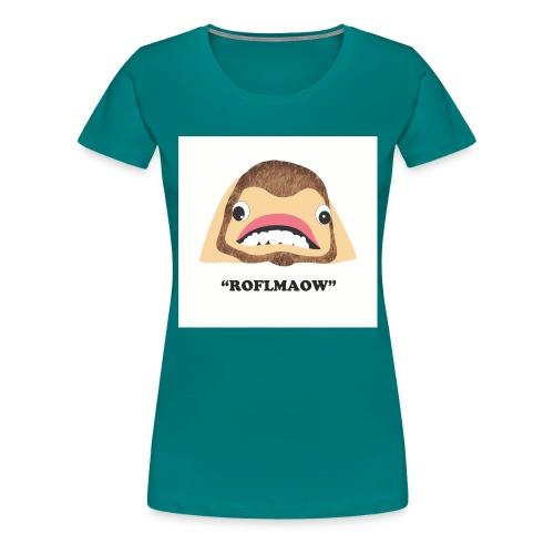 roflmaow - Women's Premium T-Shirt