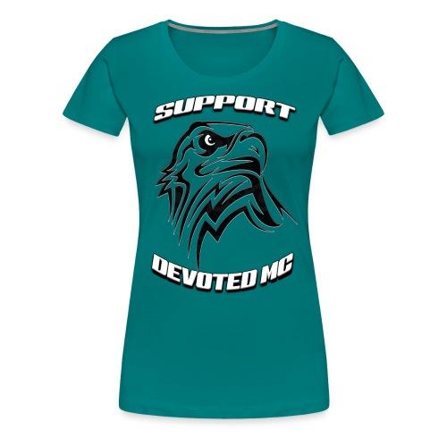 SUPPORT DEVOTEDMC E - Premium T-skjorte for kvinner