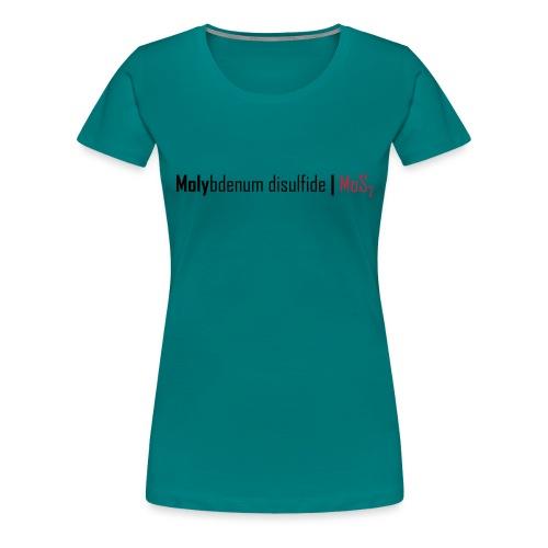 Molybdenum Disulfide - Women's Premium T-Shirt