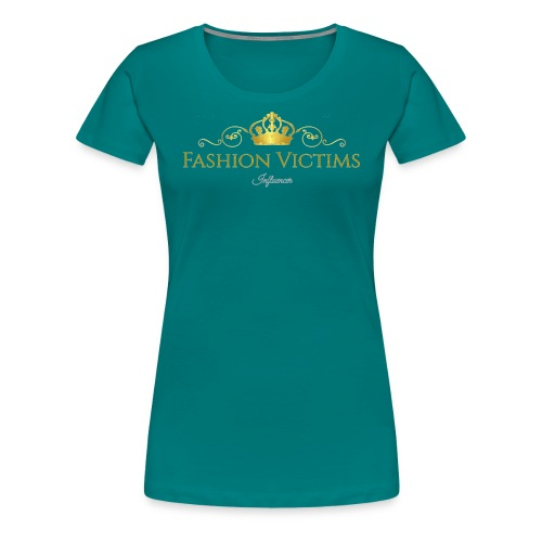 Fashion Victims Influencers Official Logo - Vrouwen Premium T-shirt