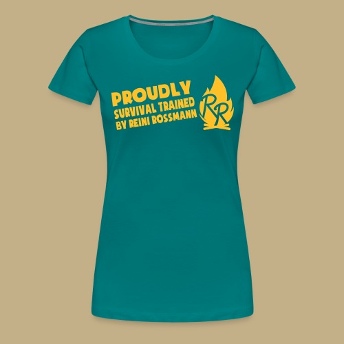 Survival Trained by Reini Rossmann - Frauen Premium T-Shirt