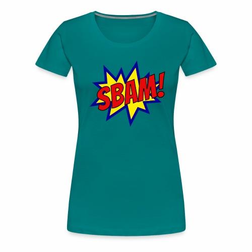 SBAM! - Maglietta Premium da donna