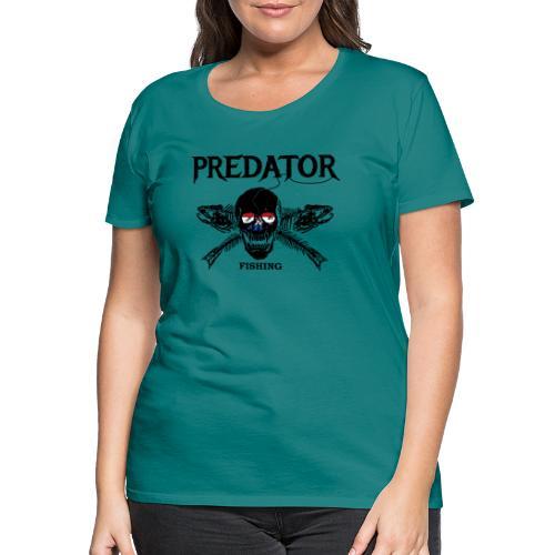 predator fishing Holland - Frauen Premium T-Shirt
