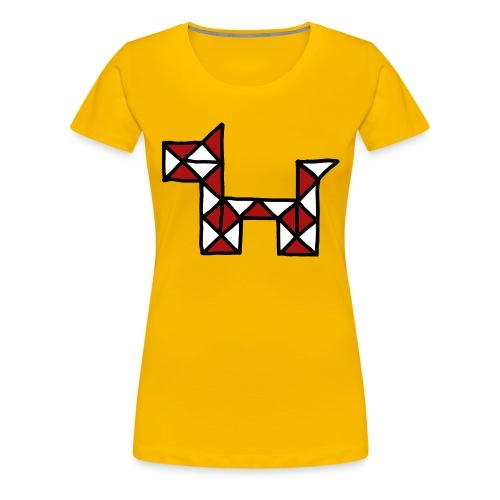 Dog pet twist puzzle toy best friend - Women's Premium T-Shirt