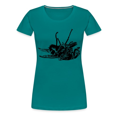 mouche morte - T-shirt Premium Femme