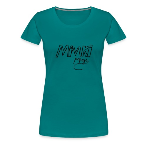 Mimki papaji #2 official logo - Women's Premium T-Shirt