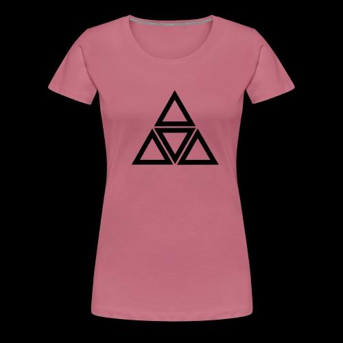 triangle - Maglietta Premium da donna