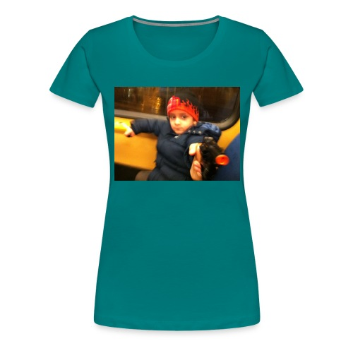 Rojbin gesbin - Premium-T-shirt dam