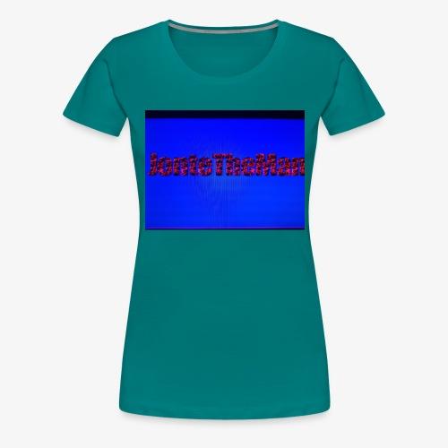 JonteTheMan - Premium-T-shirt dam