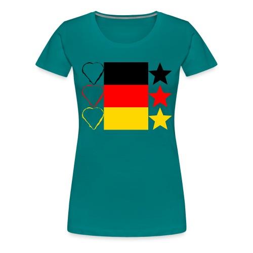 Liebe Deine Stars - Frauen Premium T-Shirt