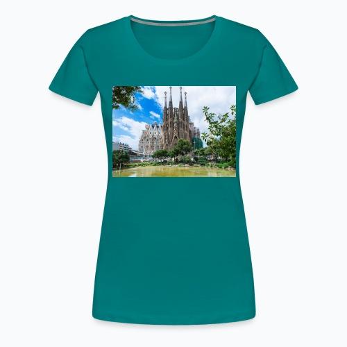 Camisa de la sagrada família - Camiseta premium mujer