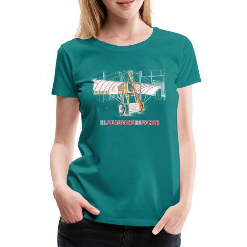 Aviones plateados - Camiseta premium mujer