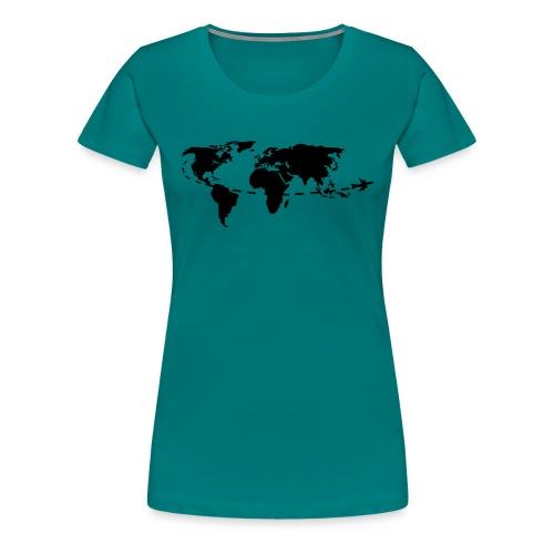My world - T-shirt Premium Femme