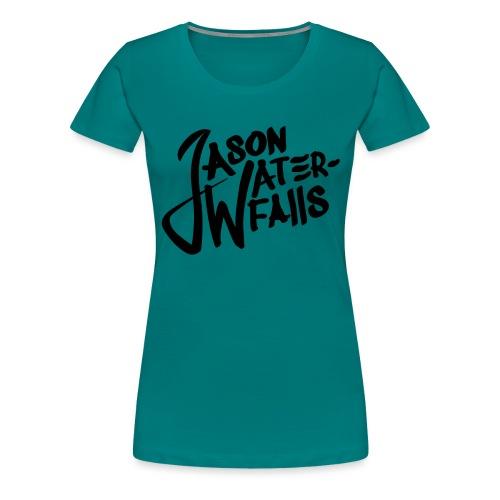 JasonWaterfalls logo - Vrouwen Premium T-shirt