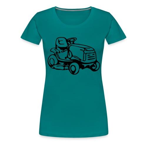 Mähmaschine - Frauen Premium T-Shirt