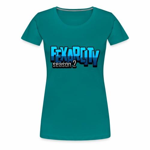 Logo FexarCityS2 - Maglietta Premium da donna