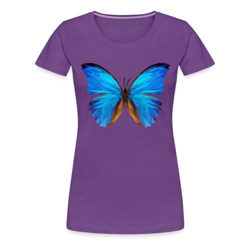 PAPILLON - MINIMALISTE - T-shirt Premium Femme
