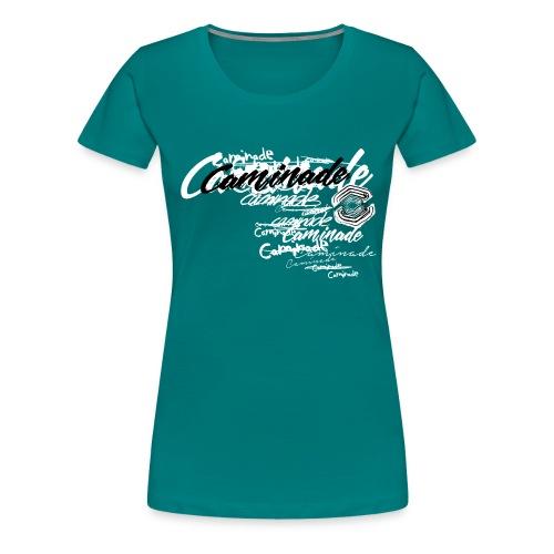 motif_caminade_trash4.png - T-shirt Premium Femme