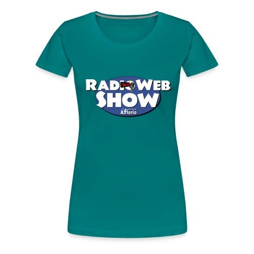 Logo RadioWebShow - Maglietta Premium da donna