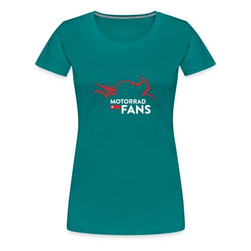 Weisse Schrift - Frauen Premium T-Shirt