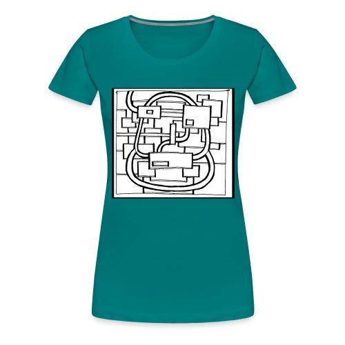 tetenoire - T-shirt Premium Femme