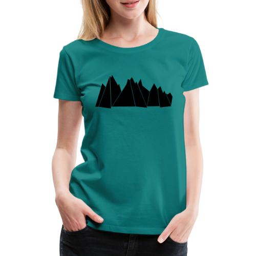 BlackMountains - Frauen Premium T-Shirt