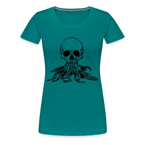 Octoskull - Women's Premium T-Shirt