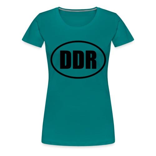 DDR Emblem - Frauen Premium T-Shirt