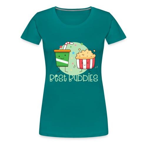 Best Buddies - Beste Freunde Kino Popcorn Limonade - Frauen Premium T-Shirt
